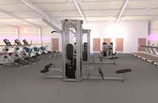 MK gym equipment